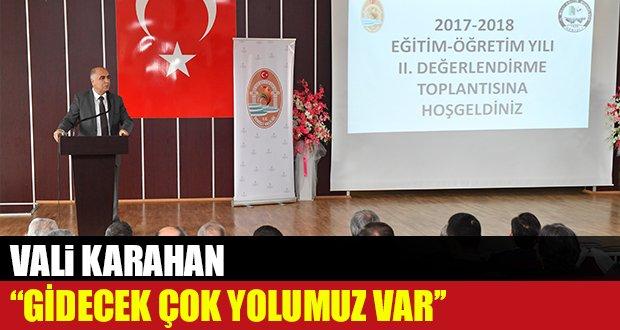 2017-2018 Eğitim Öğretim Yılı 2. Değerlendirme Toplantısı Gerçekleşti