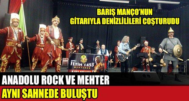 Anadolu Rock ve Mehter Aynı Sahnede Buluştu