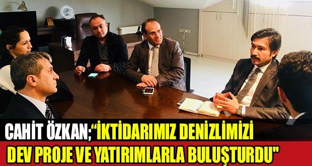 Özkan, Denizli Sağlık Turizmi Derneği Başkanı Erikoğlu'nu Ziyaret Etti