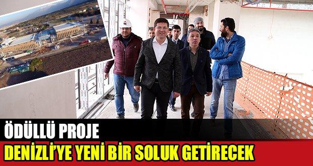 Başkan Subaşıoğlu, Ödüllü Projeyi İnceledi