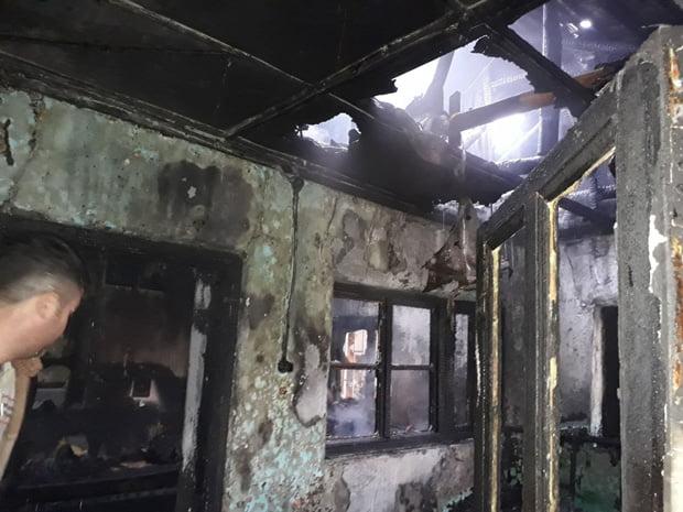 Çivril'deki Yangın Korkuttu