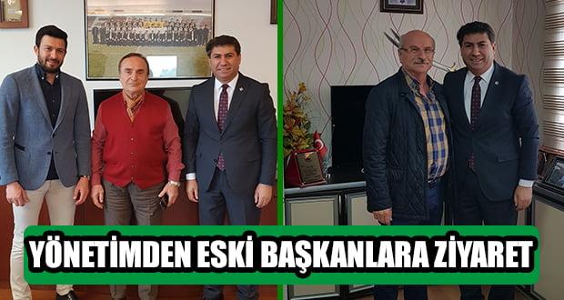 Yönetimden Eski Başkanlara Ziyaret