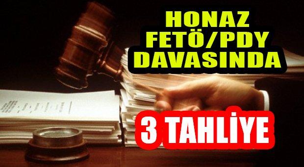 FETÖ/PDY Honaz İlçe Yapılanması Davasında 3 Tahliye