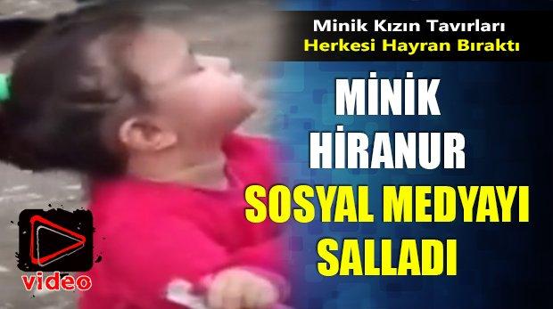Minik Hiranur Sosyal Medyayı Salladı