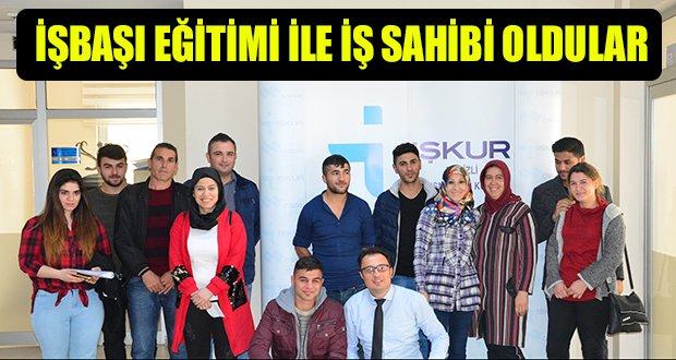 İŞKUR 30 Vatandaşı daha iş sahibi  yaptı