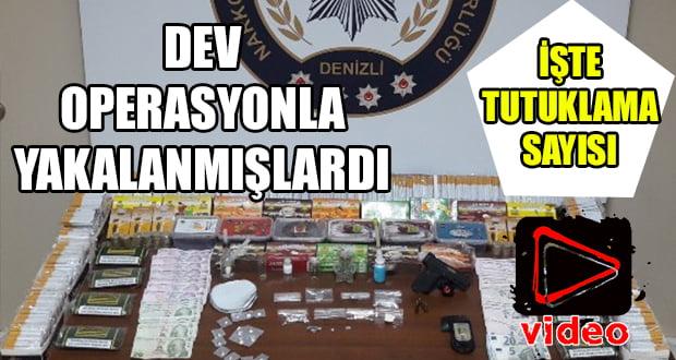 Dev Uyuşturucu Operasyonu'nda 8 Tutuklama