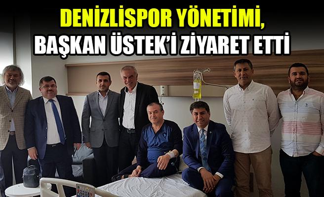 Denizlispor Yönetiminden Başkan Üstek'e Ziyaret