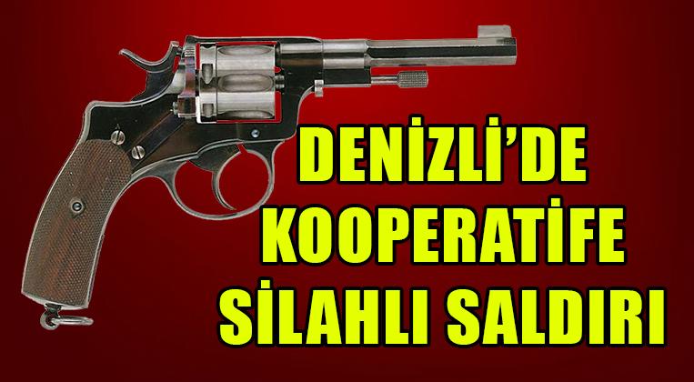 DENİZLİ'DE KOOPERATİFE SİLAHLI SALDIRI