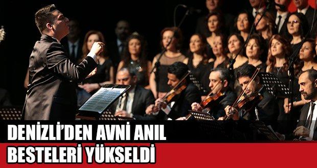 Büyükşehir'den Avni Anıl Şarkıları