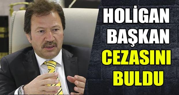 Ankaragücü Başkanı Yiğiner'in Cezası Belli Oldu
