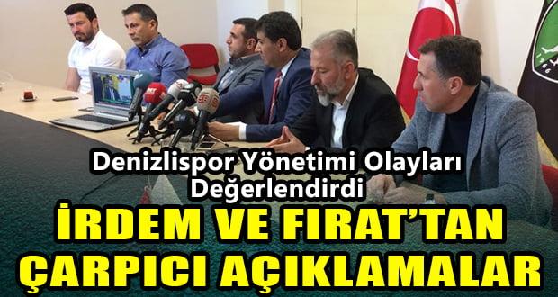 Denizlispor Yönetimi Dün Yaşanan Olayları Değerlendirdi