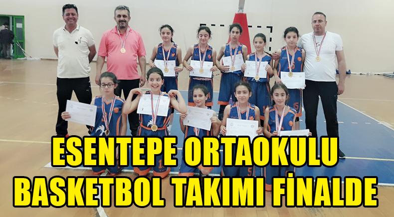Esentepe Ortaokulu Basketbol Takımı Finalde