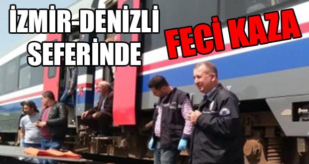 İzmir-Denizli Seferinde Feci Kaza