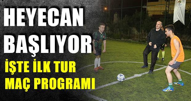 Pamukkale'de 7. Futbol Şöleni Başlıyor