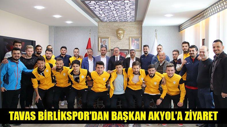 Tavas Birlikspor'dan Başkan Akyol'a Ziyaret