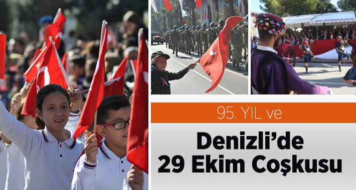 Denizli'de Cumhuriyet Bayramı