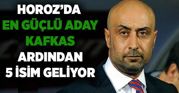 Denizlispor'da teknik direktörlük için en güçlü aday Kafkas