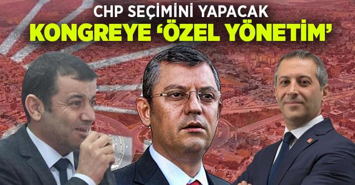 CHP Denizli kongresine 'Özel Yönetim'