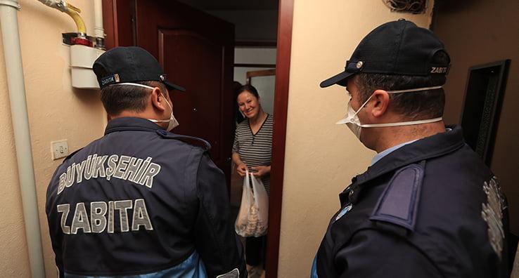 Denizli'de sokağa çıkma yasağı için tedbirler alındı