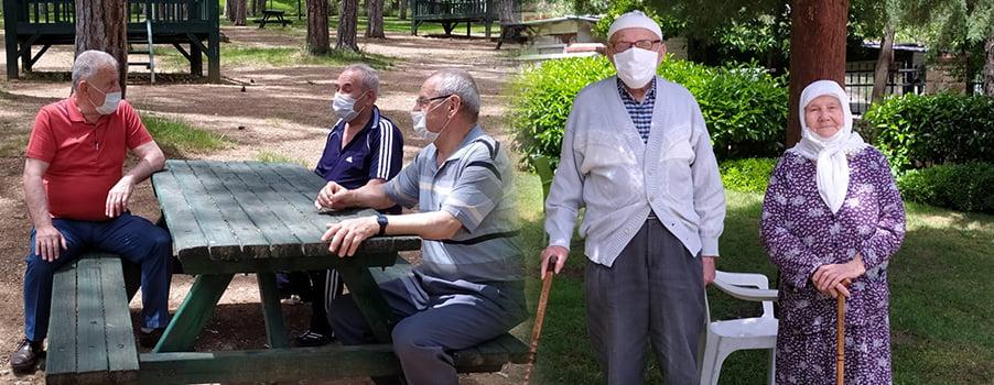 65 yaş üzeri vatandaşlar ikinci kez sokağa çıkma sevinci yaşadı!