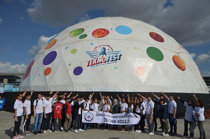 Denizli OSB Teknik Koleji  Teknofest ön elemesini başarıyla Geçti