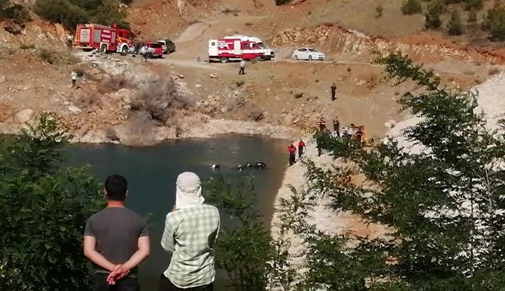 Denizli'de dayı ve yeğen gölette boğularak hayatını kaybetti