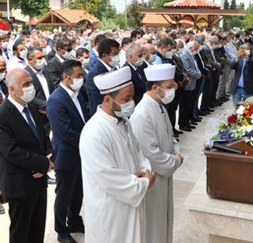 Müşerref Erdoğan son yolculuğuna uğurlandı