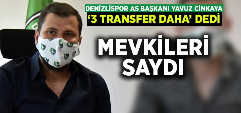 Denizlispor'da 3 transfer daha yapılacak.. İşte mevkiler!