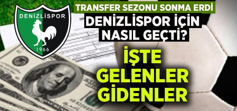 Denizlispor'da transfer sezonu nasıl geçti?