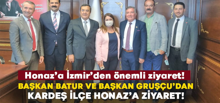 Honaz Belediyesi'ne İzmir Konak'tan önemli ziyaret!
