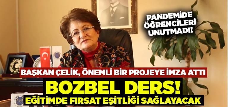 Başkan Çelik'ten örnek proje: BozBel Ders!