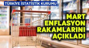 Mart ayı enflasyon rakalamları açıklandı