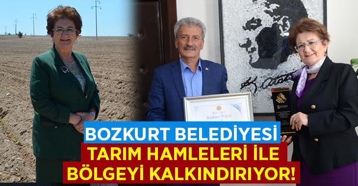 Bozkurt Belediyesi tarım hamleleri ile bölgeyi kalkındırıyor!