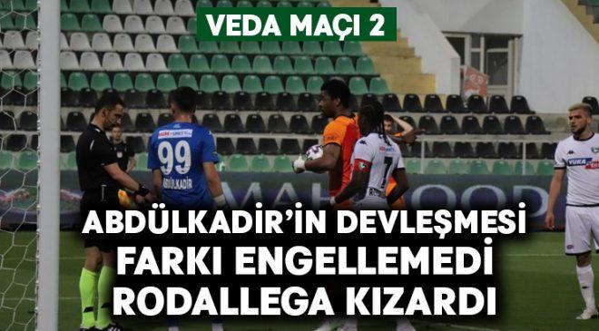 Abdülkadir'in devleşmesi Denizlispor'a yetmedi
