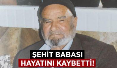 Şehit Ercan Çobanoğlu'nun babası hayatını kaybetti!