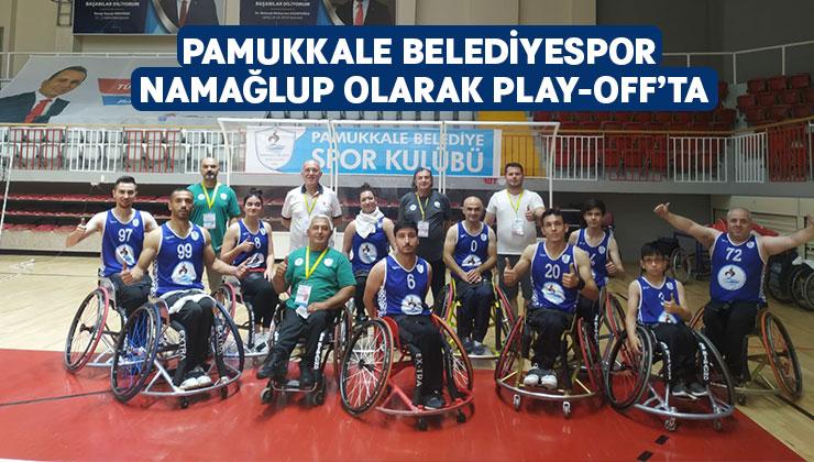 Pamukkale Belediyespor Namağlup Olarak Play-Off'ta