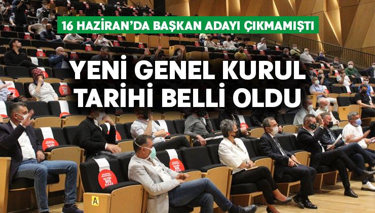 Denizlispor'da yeni kongre tarihi belli oldu