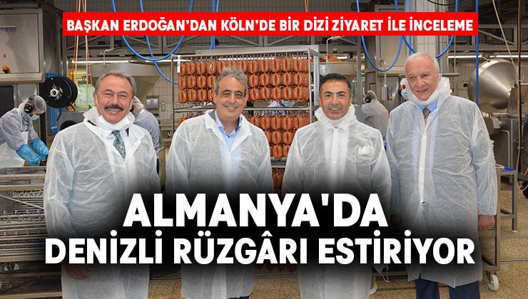 Başkan Erdoğan'dan Köln'de Bir Dizi Ziyaret ile İnceleme