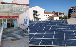 Kale Devlet Hastanesi'ne güneş enerjisi santrali